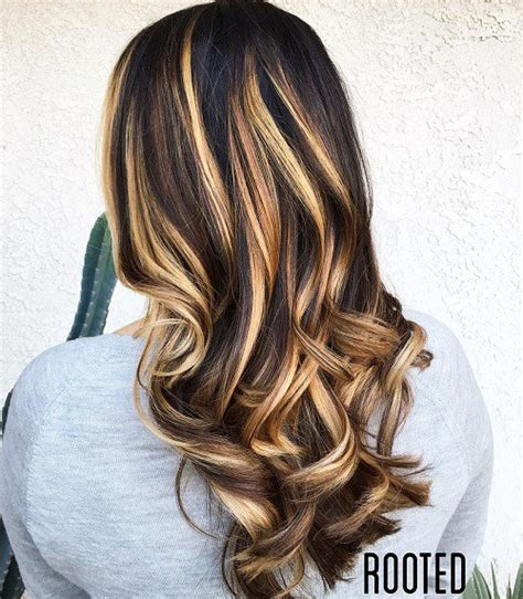 hairstyles dark with blonde highlights 60 hairstyles featuring dark brown hair with highlights