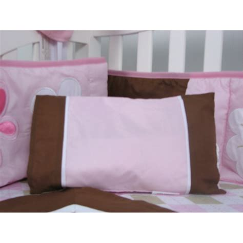 pink and brown bedding soho pink and brown sweetie garden baby crib nursery bedding set royal robes