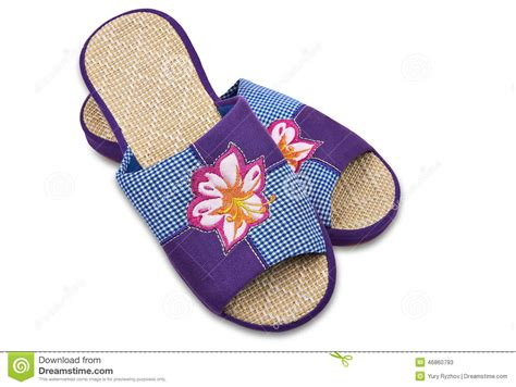 good house shoes house slippers stock photo image 46860793