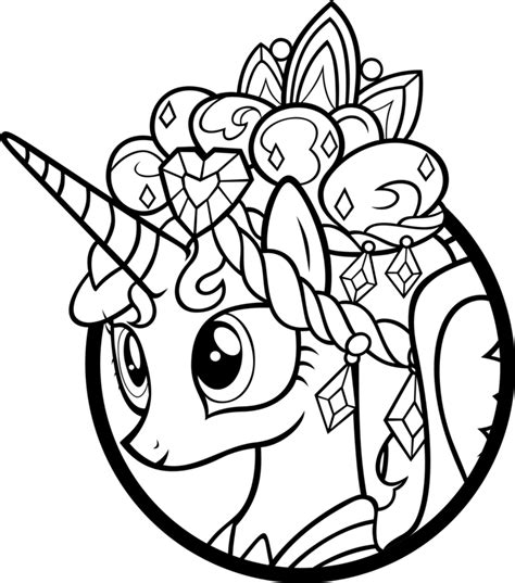 my little pony coloring pages cadence my little pony coloring pages princess cadence az