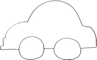 car templates outline pictures of cars clipart best
