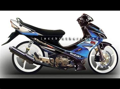 Stripingstickerlis Motor Suzuki Smash Titan 2011 suzuki smash titan doovi