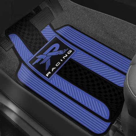 Mats Cars by Plasticolor 174 Floor Mats With Racing Design
