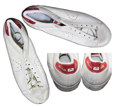 lot detail arthur ashe s personally owned and worn