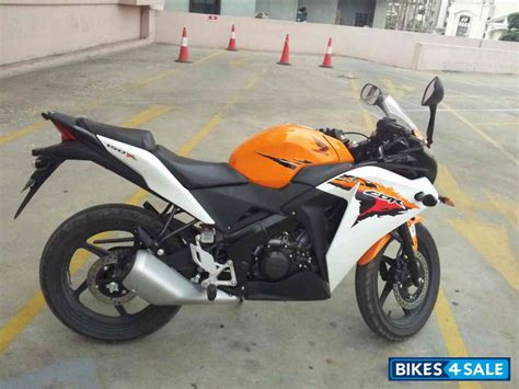 honda cbr 150r orange colour second honda cbr 150r in bangalore in condition
