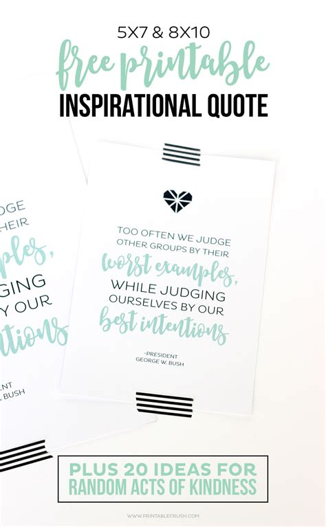 printable mindfulness quotes free printable inspirational quote and random acts of