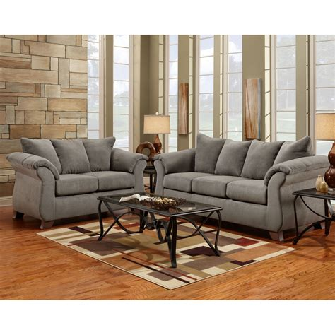 Grey Living Room Set Flash Furniture 6700sensationsgrey Gray Living Room Furniture Sets
