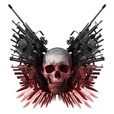 expendables tattoo hd expendables logo skull www imgkid com the image kid