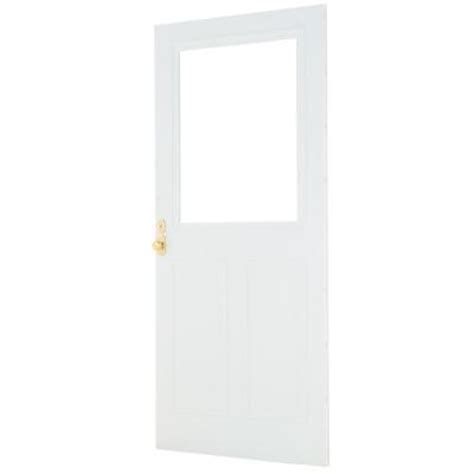 Forever Doors by Emco 36 In X 80 In Forever White Store In Door