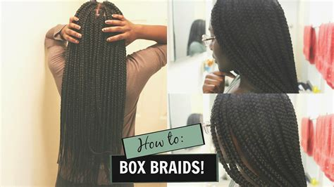 what isnthe length for box braids how i do my own box braids waist length braids
