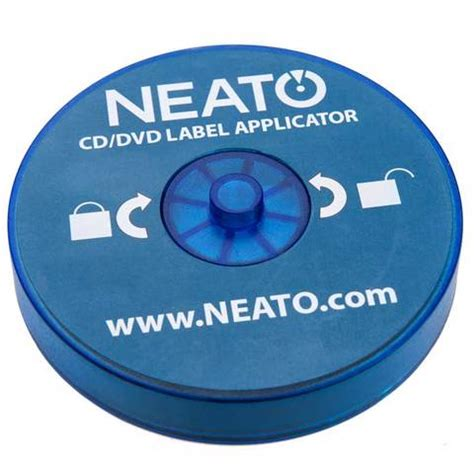 fellowes neato cd label template label applicators blue