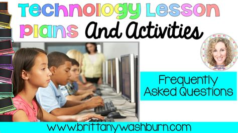 technology teaching resources  brittany washburn    technology lesson plans