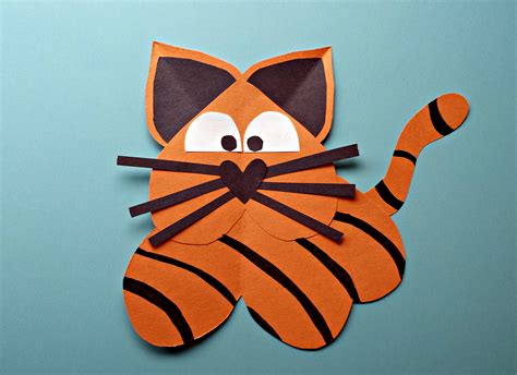 Tiger Paper Plate Craft - tiger paper plate craft www imgkid the image kid