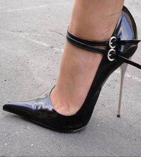 High Heells 14cm metal heels 14cm black pointed toe high heels shoes plus size pumps mens shoes
