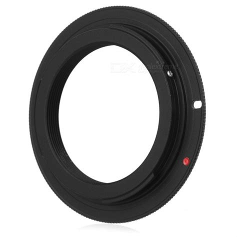 Best Seller Adapter M42 To Eos Silver Murah m42 mount lens to canon eos adapter ring black free shipping dealextreme