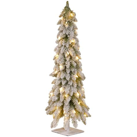 national tree company 4 ft snowy downswept forstree