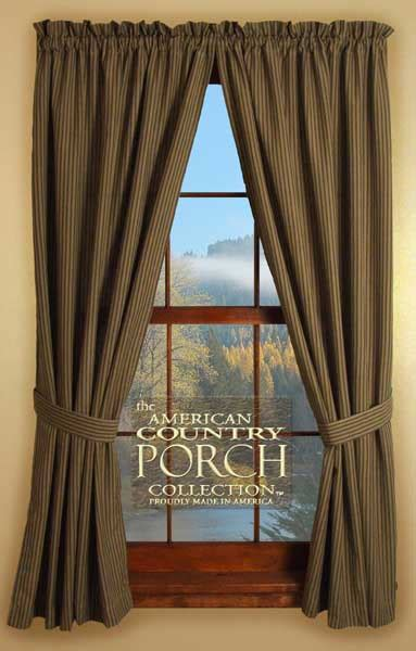 the country porch curtains the country porch curtains tieback curtain panels