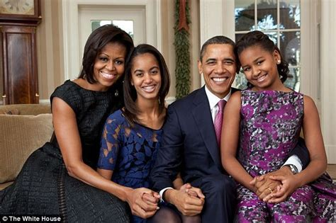obama first family obama family portrait and christmas card debut missxpose