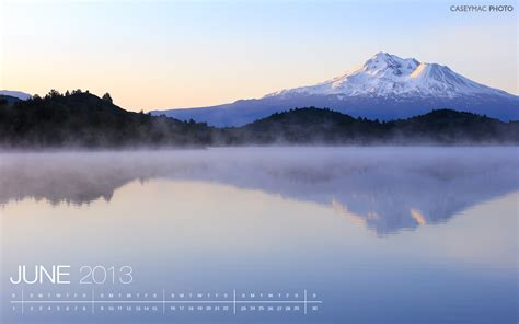 june  desktop wallpaper trout lake  mount shasta