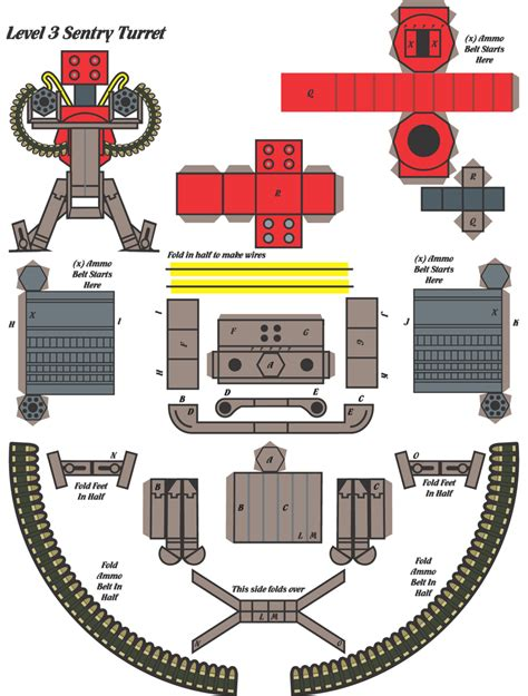 papercraft weapons templates steam community guide tf2 paper models