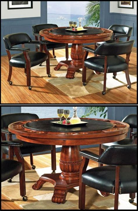 dining room poker table dining table poker table dining room furniture pinterest