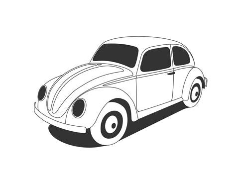 volkswagen beetle clipart onlinelabels clip art vw beetle classic