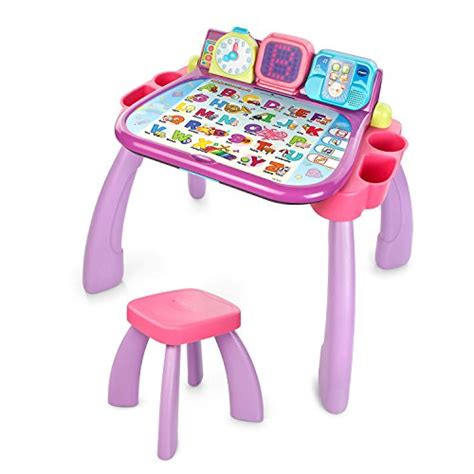 vtech touch and learn activity desk deluxe pink awardpedia vtech touch and learn activity desk purple