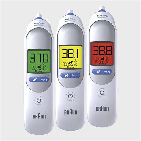 Braun Ear Thermometer braun thermoscan 7 ear thermometer