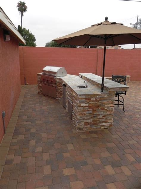 bbq island patio and islands on pinterest