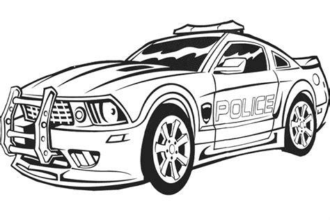 6 Dessins De Coloriage Voiture De Policier 224 Imprimer