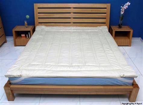 organic wool king mattress pad topper down alternative ebay