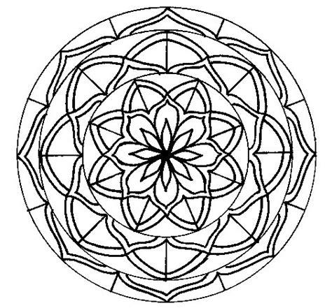 mandalas imagenes para descargar dibujo de mandala 6 para colorear dibujos net