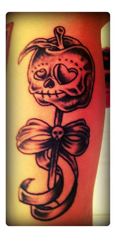 candy apple tattoo pin by roth on tattoos