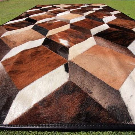 Cowhide Rugs Calgary - cowhide leather area rug rugs ideas