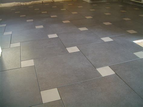 Kitchen Floor Tile Patterns Pinwheel Porcelain Kitchen Floor In Loveland
