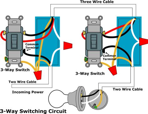 what is a common wire on a 2 way light switch