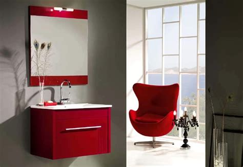 red grey bathroom 39 cool and bold red bathroom design ideas digsdigs