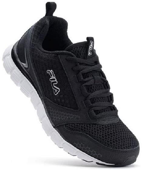 fila memory foam sneakers new s fila windstar 5sr20543 black memory foam