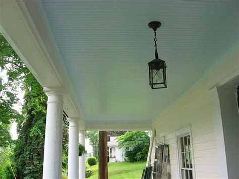 morning sky blue benjamin moore my front porch ceiling keeps the wasps away benjamin
