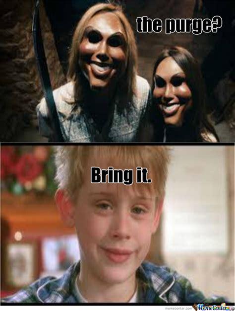 Purge Meme - home alone kid vs the purge by recyclebin meme center