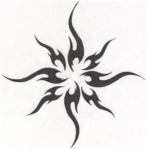 simple tribal tattoo meanings 25 best ideas about tribal sun tattoos on