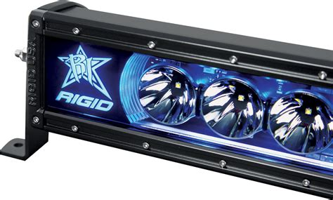 Blue Led Light Bars Rigid Industries 50 Inch Radiance Led Light Bar Blue Back Light 25001