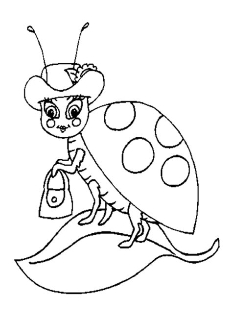 Ladybug Pictures To Color by Ladybug Coloring Pages Coloring Town