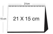 Cetak Kalender Meja Duduk 260 Gr Isi 12 Lembar Cover cetak kalender meja