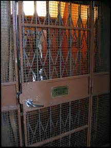 Claustrophobia old fashioned lift in the house where my sister lives