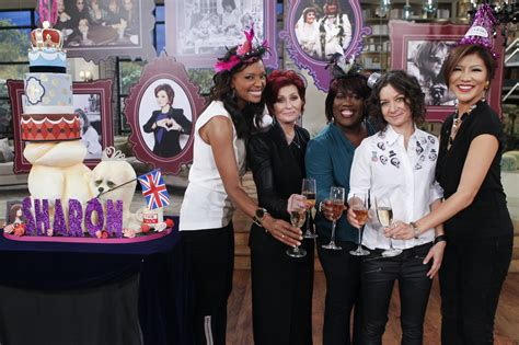 The Talk Sharon Osbourne Birthday Giveaways - sharon s bday special the talk photos cbs com