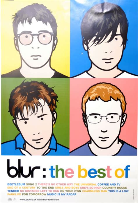 best of blur blur the best of uk poster 606008