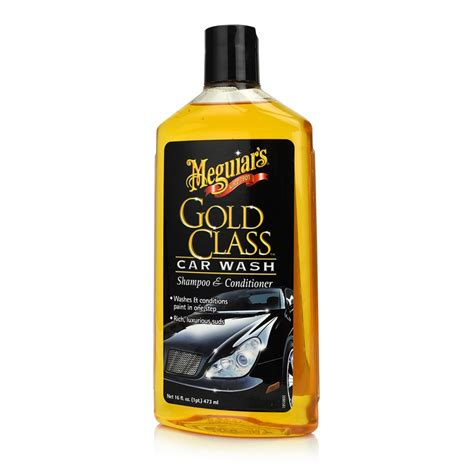Meguiars Gold Class Car Wash Shoo Conditioner Mobil 1 meguiars gold class car wash shoo conditioner 473ml shop n shine