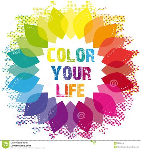 your color color your text concept royalty free stock photo