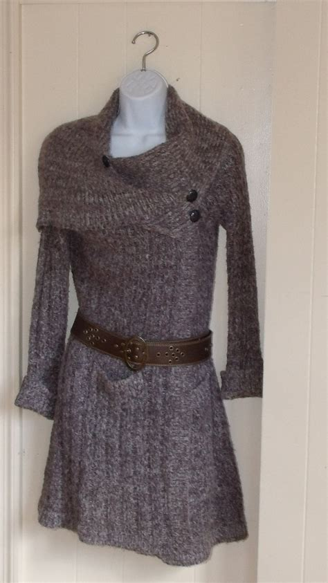 how to upcycle sweaters cozy upcycled knit sweater dress jacket coat cover up
